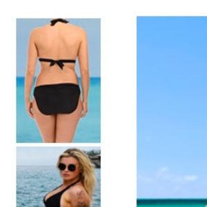Swimsuits For All Swim - 2pc beach babe cutout triangle BIKINI 27z3!